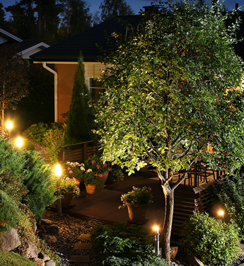 Installed Outdoor Lighting in Las Vegas, NV